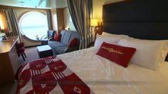 Disney Dream & #Disney Fantasy stateroom tours. #Cruise
