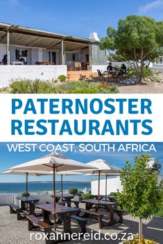The seaside town of on the has many offering everything from pizzas and burgers to seafood and fine dining. Here's my guide to 8 Paternoster worth visiting, including The Noisy Oyster, Gaaitjie, Wolfgat, Voorstrandt and Reuben's. Noisy Oyster, South African Holidays, All About Africa, Slow Travel, Travel Tips, The Fish Market, Restaurant Offers, Seaside Towns, African Countries