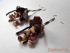 Like small autumn jellyfishes Handmade jewelry Handmade