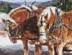 "Willard's Team,  Lindsey Bittner Graham,   11x14""     RaymarArt Painting Competition Entry"