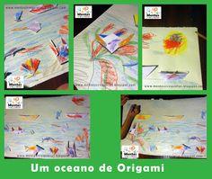 Um oceano de Origami