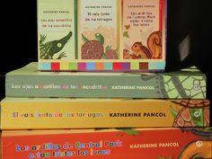 Katherine Pancol: Los ojos amarillos de los cocodrilos, El vals lento de las tortugas y Las ardillas de Central Park están tristes los Lunes