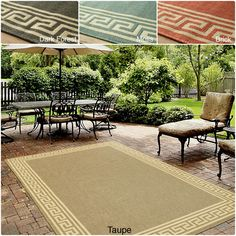 Designed for both indoors and outdoors, this beautiful pattern is perfect for the kitchen or any area where easy cleaning is important. This rug can be washed with a garden hose.