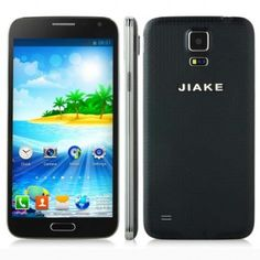 JIAKE G9006W smartphone use 5.0 inch screen, with MTK6572W Dual Core 1.2GHz processor, has 256MB RAM, 2GB ROM, 2MP front + 2MP rear double camera, and installed Android 4.2 OS.