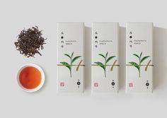 Hong Fresh Tea Labs packaging design by hongworkshop (China) - http://www.packagingoftheworld.com/2016/05/hong-fresh-tea-labs-concept.html