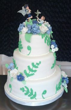 Fairyland wedding cake