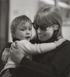 Cynthia Powell-Lennon and Julian Lennon