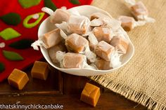 Brown Sugar Caramels...Guest Post for Cake Duchess - That Skinny Chick Can Bake