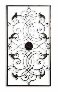 Uttermost 07527 Effie Rectangle Metal Wall Art