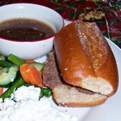 Easiest Slow Cooker French Dip