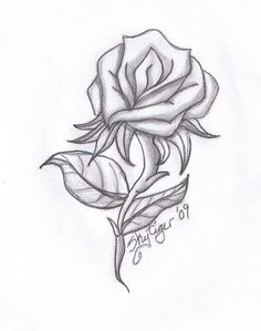 Quick drawing of some roses #draw #tattoo | // Ink | Pinterest ...