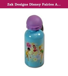 Zak Designs Disney Fairies Aluminum Bottle with Dome Lid, 13 Ounce. If your kids love Disney Fairies, they'll love this Aluminum Bottle. Includes a black dome lid and has a 13 ounce capacity. It is not for microwave use but it is dishwasher safe. By Zak Designs. All Zak Children's Mealtime Products are manufactured to Federal and State standards. Child-Safe!.