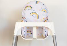 Antilop High Chair, Foot Rest, Terrazzo, Ikea, Range, Safari, Rainbow, Number, Furniture