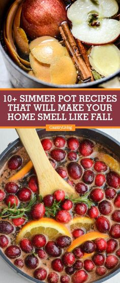 Not only do these fragrant mixtures smell way better than potpourri and seasonal candles, but they're also cheaper! Go grab a big pot or your trusty slow cooker and whip up one of these festive recipes fit for filling your home with the scents of autumn. Fall Potpourri, Homemade Potpourri, Stove Top Potpourri, Simmering Potpourri, Potpourri Recipes, How To Make Potpourri, House Smell Good, House Smells, Fall Recipes