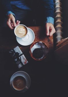 constellationofcreativity:  Coffee dates for days. Cheers.