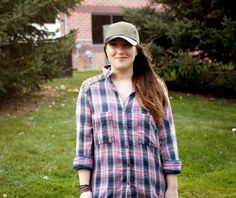 Miss Rosie O: Coming Untied; Free People, plaid top