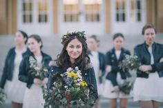 A Gorgeous Florida Wedding With Flower Crowns and More