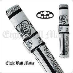 Action Eight Ball Mafia Case - 3x5 - EBMC35E - Hard Cue Case