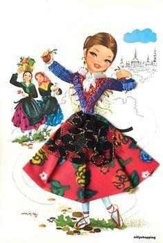 Vintage Cards, Vintage Postcards, Modern Pop Art, Big Eyes, Vintage Children, Folklore, Old Photos, Disney Characters, Fictional Characters