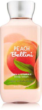Peach Bellini Body Lotion - Signature Collection - Bath & Body Works