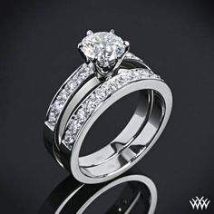 OMG, the most perfect ring EVER, I mean EVER !!!!!!  perfect would be...  a wedding band on each side of engagement ring.....  can you say bling?  THIS IS MY DREAM RING !!!!