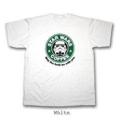 best website b06c7 cd7ff May the Froth Be With You T-Shirt. All Sizes (Small - 3XL) 100% Cotton  (Large, Red) Amazon.co.uk Clothing