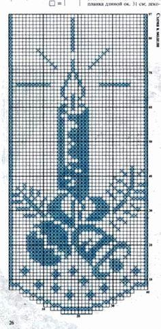 @nika Knitting Patterns Free Dog, Free Crochet Doily Patterns, Crochet Bikini Pattern, Crochet Doilies, Crochet Christmas Ornaments, Christmas Crochet Patterns, Holiday Crochet, Xmas Cross Stitch, Cross Stitch Charts