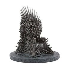 Dark Horse continues our new line of products based on HBO's award-winning television series Game of Thrones. Here is a fantastic mini version of the Iron Throne replica. Based on the same sculpt as o...