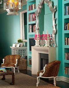 Mirror, paint, chairs