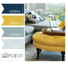 Apartment Ideas For Girls Living Room Color Schemes Ideas Living Room Color Schemes, Living Room Colors, New Living Room, Colour Schemes, Living Room Designs, Living Room Decor, Colour Palettes, Family Room Colors, Navy Living Rooms