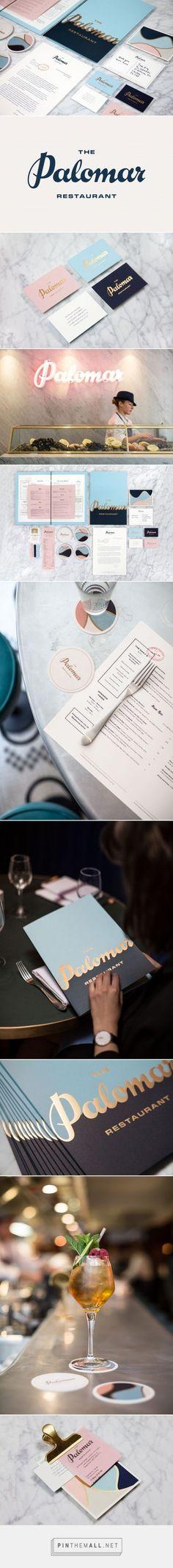 The Palomar Restaurant Branding by Here Design