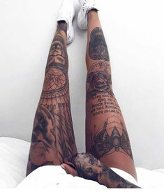 Gorgeous 43 Stunning Leg Tattoos Ideas for Women that are Fabulous #Fabulous #forWomen #Ideas #LegTattoos #Stunning