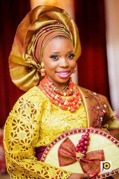 BellaNaija Bride Ebun Photography by Jide Odukoya Fabrics by Nouva Couture Nigerian Wedding Makeup yoruba wedding naija bride gele lace