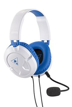 cc217a77cd1 Turtle Beach Recon 60P White Amplified Stereo Gaming Headset | PS4 & Xbox  One Ps3,