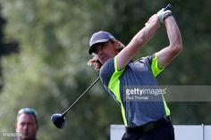 Tommy Fleetwood of England tees off during the BMW International Open preview day at the Eichenried Golf Club on June 24, 2015 in Munich, Germany.