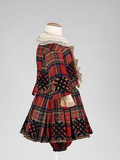 SuitDate: ca. 1860 Culture: American Medium: wool, cotton, silk