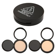 3 Concept Eyes Slim Fit Powder Pact leaves a dewy and face-hugging feeling! Grab @eyecandys! #cosmetics #beauty