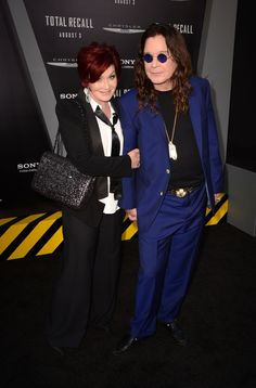 Sharon and Ozzy Osbourne married in 1982