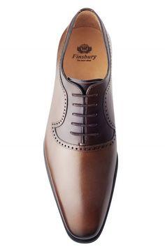 Richelieu Preston Cognac - Finsbury Shoes Zapatos Elegantes Hombre 55f0fd2efd758