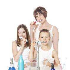 Tips divertidas para que tus niños se cepillen los dientes