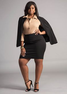 b21026448 Plus Size Suiting and Wear to Work Options with Ashley Stewart: Dressed to  Kill