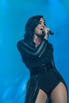 Demi Lovato Performs Live at Z Festival 2016 in Sao Paulo Brazil, 10 December 2016