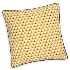 MDM - Housse de coussin en coton jaune 40 x 40 cm HILTON - 10€