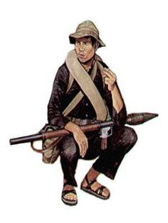 Vietcong - Vietnam war, pin by Paolo Marzioli Military Art, Military History, Military Uniforms, North Vietnam, Vietnam War, Korean War, Cold War, Warfare, Marines