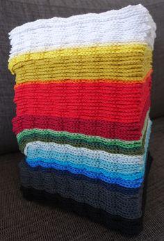 Hæklet karklud med muslingemønster 1 Knitting Patterns Free, Free Pattern, Pot Holders, Knit Crochet, Diy And Crafts, Blanket, Inspiration, Spring, Creative