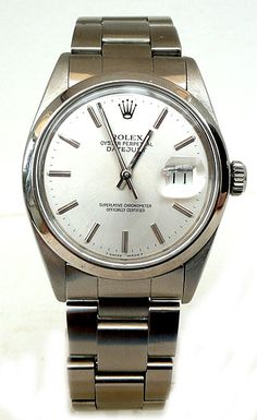 Vintage Rolex Oyster Perpetual Date-Just. Adam gave me this watch for my 30th birthday, he spoils me rotten!