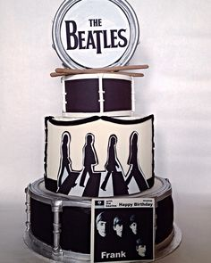 The Beatles cake, Beatles birthday, custom cakes Toronto, faux cakes Made With Luv And Sugar