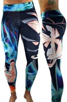 S2 Activewear - UNISEX Dragon Ball Z Goku Leggings