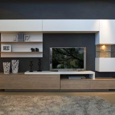 9 2034 € - New Sites Living Room Tv Unit, Home Living Room, Interior Design Living Room, Living Room Designs, Living Room Decor, Dining Room, Tv Unit Decor, Tv Wall Decor, Modern Tv Wall Units