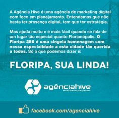 Homenagem da Hive aos 286 anos de Florianópolis